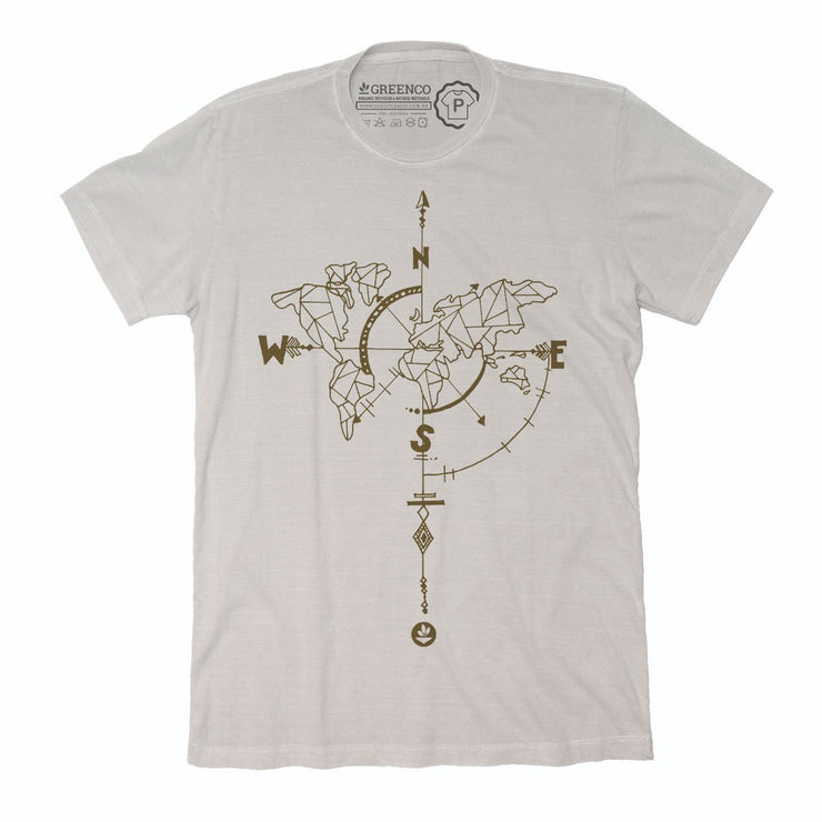 Sustainable Cotton Men's T-Shirt - Wanderlust