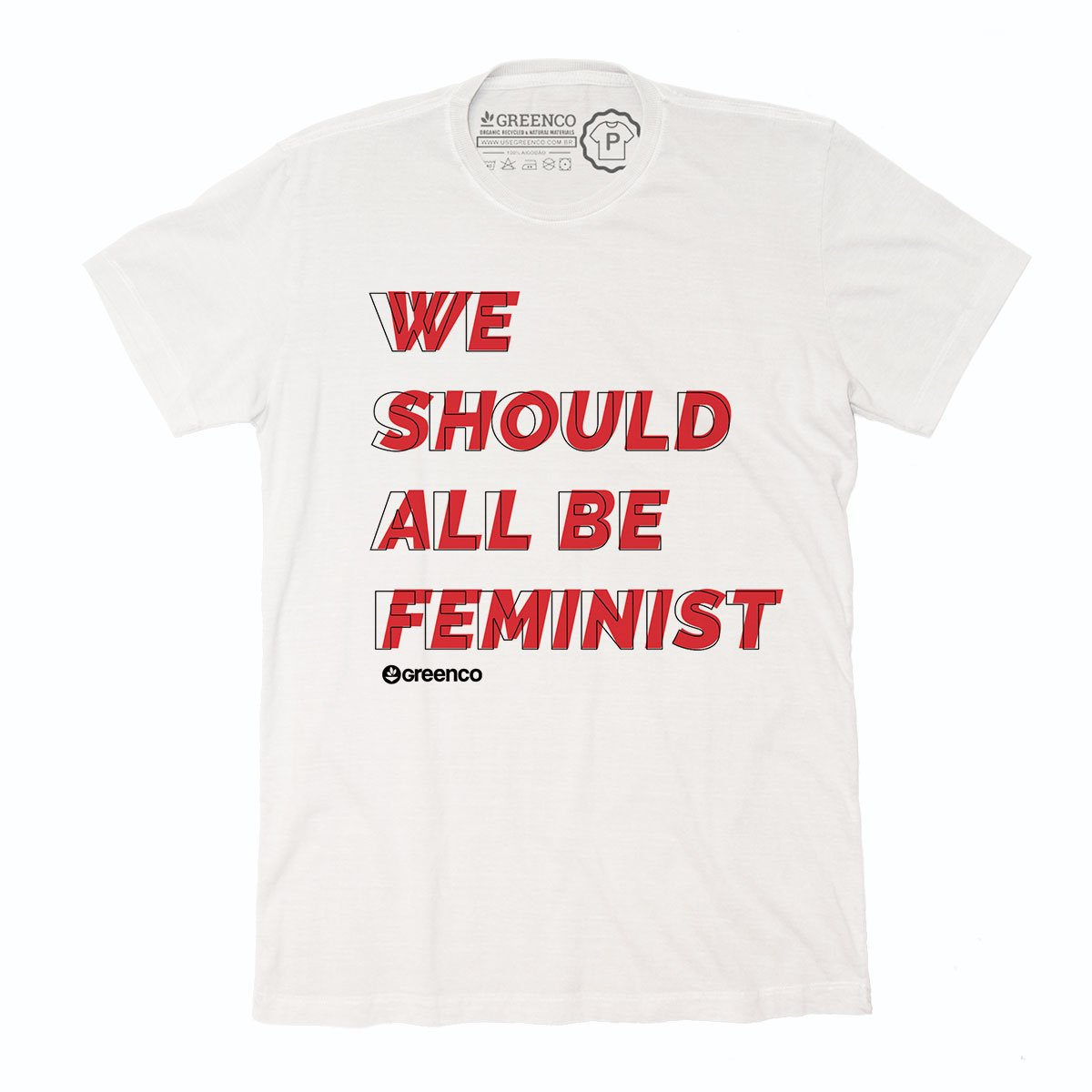Sustainable Cotton Men's T-Shirt - We Should All Be Feminist