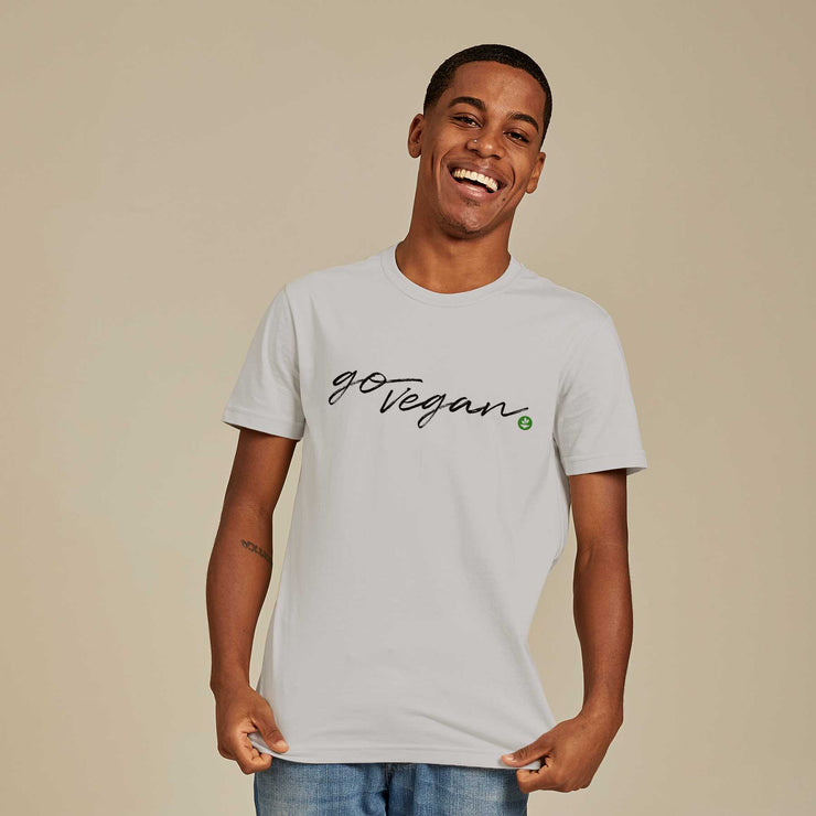 Organic Cotton Men's T-shirt - Go Vegan