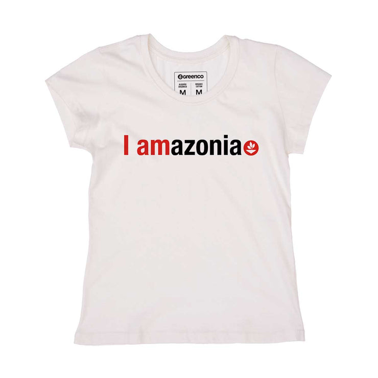 Organic Cotton Women's T-shirt - I Amazonia