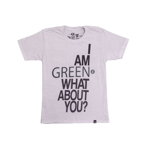 Kids' T-Shirt - I Am Green