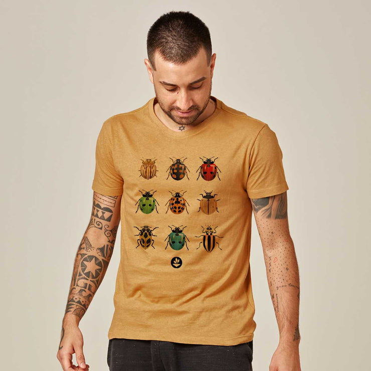 Recotton Men's T-shirt - Ladybugs