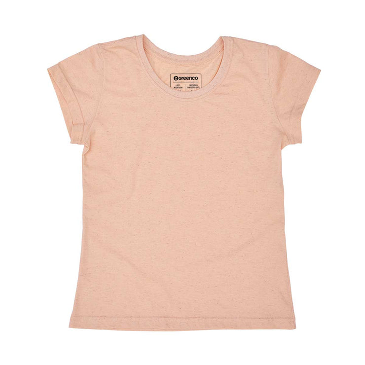Recycled Polyester + Linen Women's T-shirt - Lisa