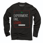 Sustainable Cotton Long Sleeve T-Shirt - Learn