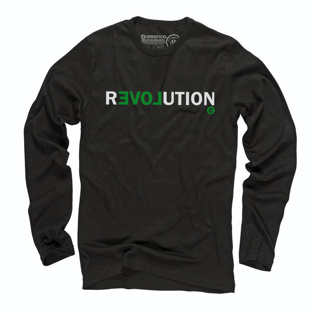 Sustainable Cotton Long Sleeve T-Shirt - Revolution