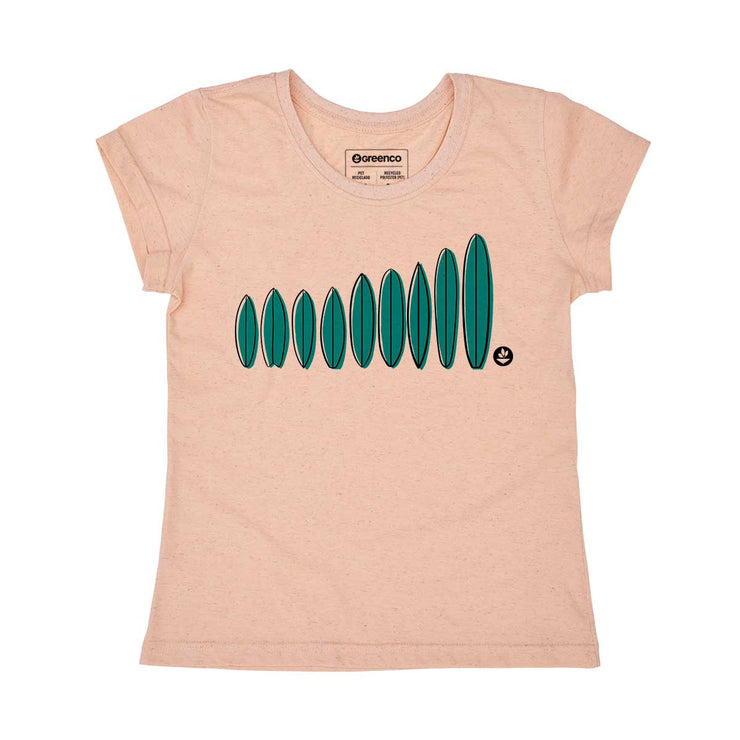 Recycled Polyester + Linen Women's T-shirt - My Types
