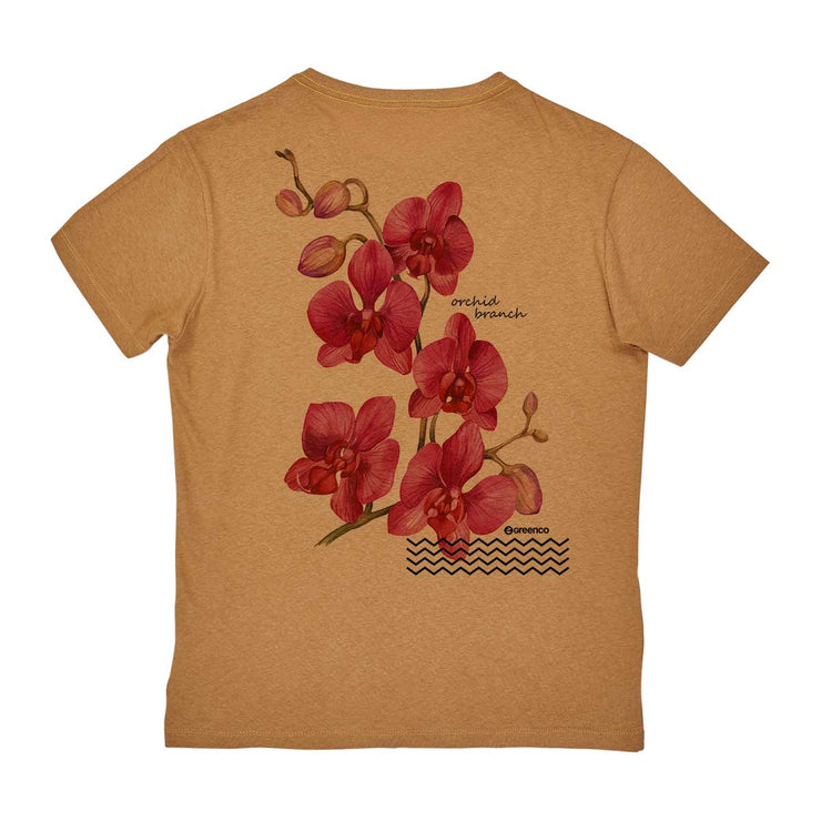 Recotton Men's T-shirt - Rose Orquid Backside