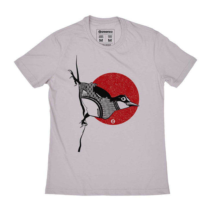 Organic Cotton Men's T-shirt - Bird