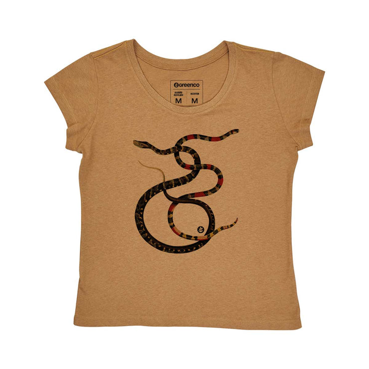 Recotton Women's T-shirt - Snakes