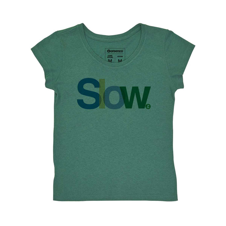 Recotton Women's T-shirt - Slow
