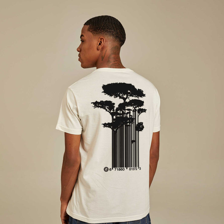 Organic Cotton Men's T-shirt - Tree Code