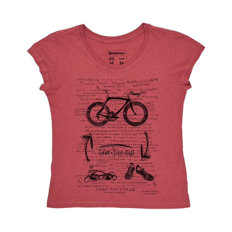 Recotton Women's T-shirt - Triathlon