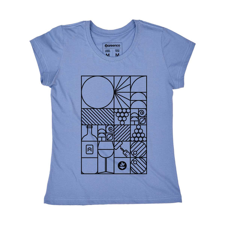 Organic Cotton Women's T-shirt - Geo Winery