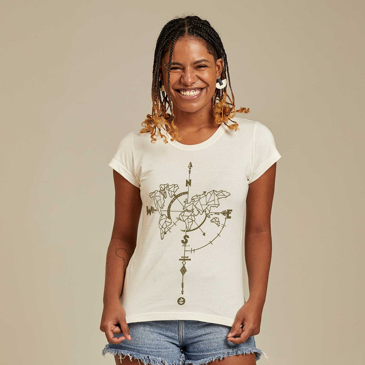 Organic Cotton Women's T-shirt - Wanderlust