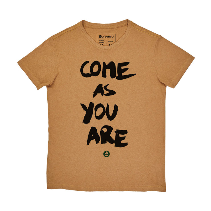Recotton Men's T-shirt - Come As You Are