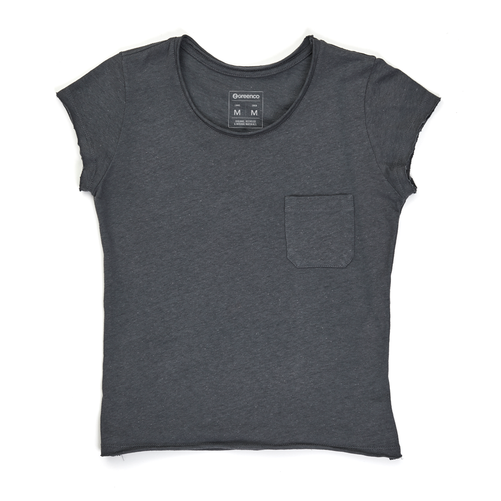 Linen Women's T-shirt - Graphite