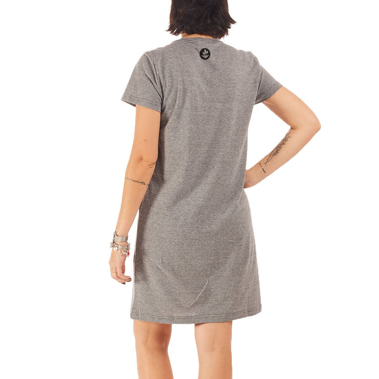 Recycled Polyester (PET) T-Shirt Dress - Butterfly