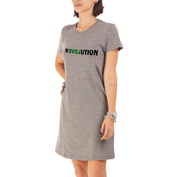 Recycled Polyester (PET) T-Shirt Dress - Revolution