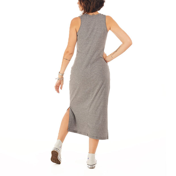Recycled Polyester (PET) Midi Dress - Liso