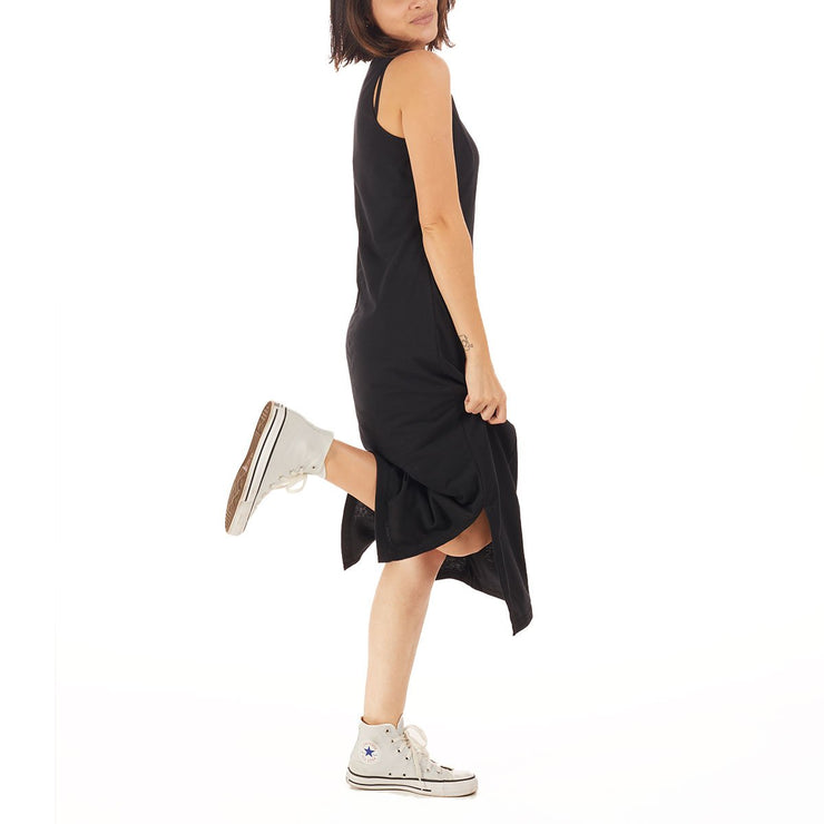 Recycled Polyester (PET) Midi Dress - Basic
