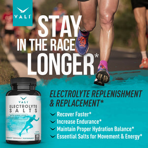 VALI Electrolyte Salts - Hydration Support