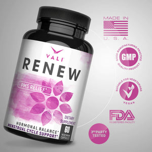 VALI Renew PMS Support - Menstrual Cycle Support