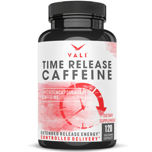 VALI Time Release Caffeine - Microencapsulated Caffeine