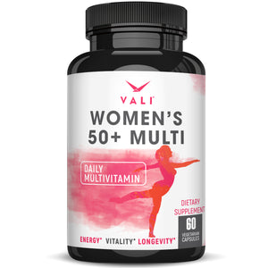 VALI Women's 50+ Multivitamin - 60 Vegan Capsules