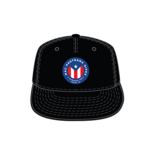 2-Strokes Only Black Trucker Snapback