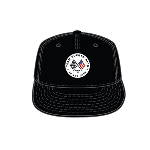 Team Puerto Rico Black Trucker Snapback