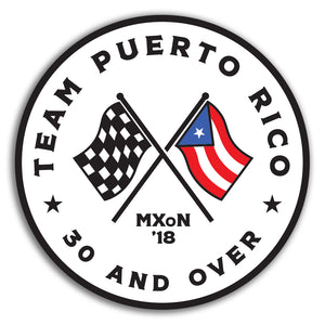 Team Puerto Rico Sticker