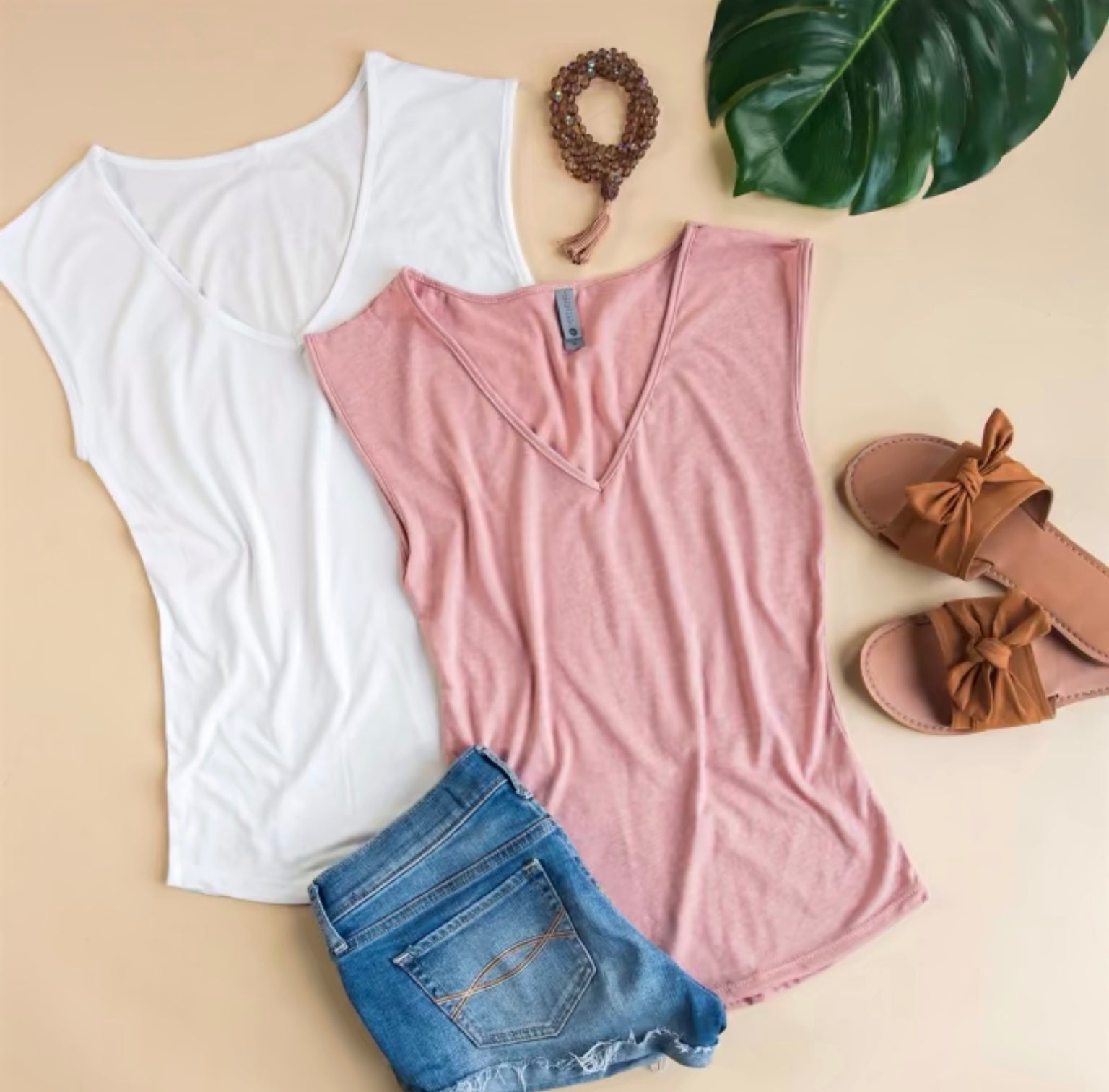Sleeveless Layering Tee
