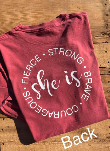 She is... (Long Sleeve)