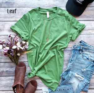Spring/Summer colors Favorite Layering Tee