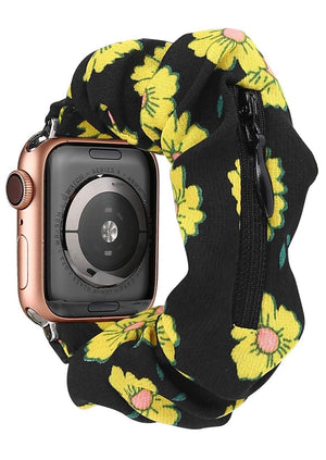 Scrunches Bands with Zipper for Apple Watch