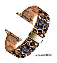 Load image into Gallery viewer, Luxury Leopard Apple Watch band