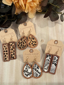 Wild Wood Earrings