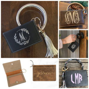 Personalized ID wallet keychain