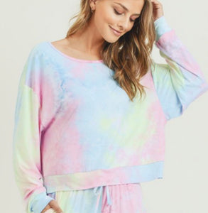 Lounge Around Tie Dye Top