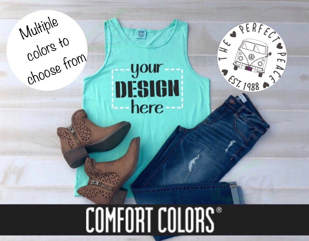 Custom Tank Tops (Comfort Color)