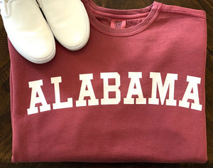 School Spirit Comfort Color Sweatshirt