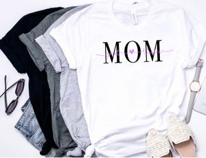 Personalized Mom T-shirt
