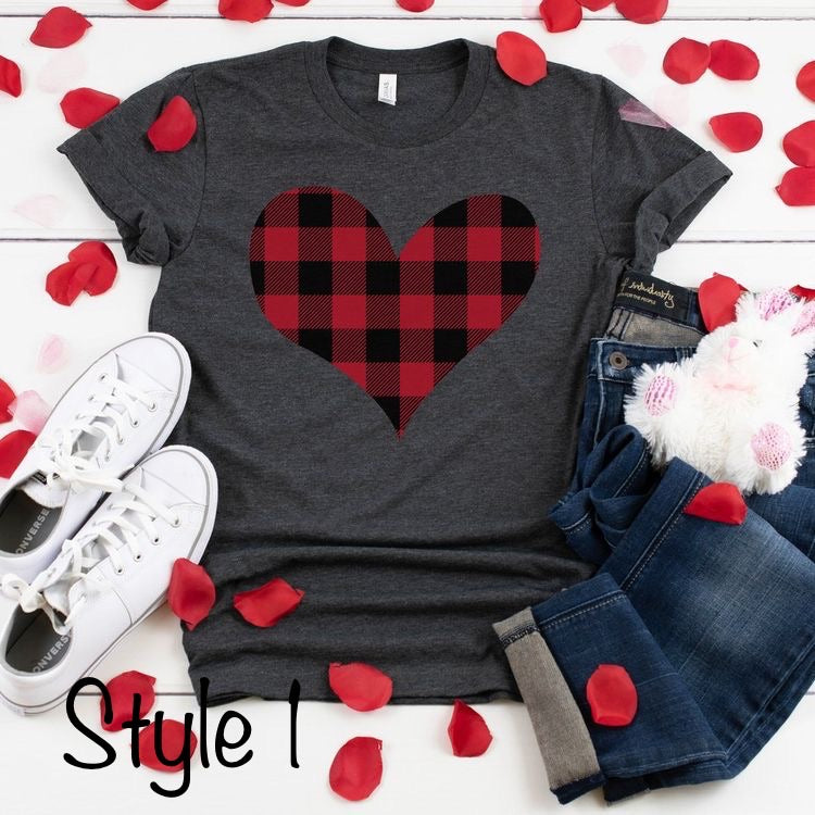 Buffalo Plaid Valentine