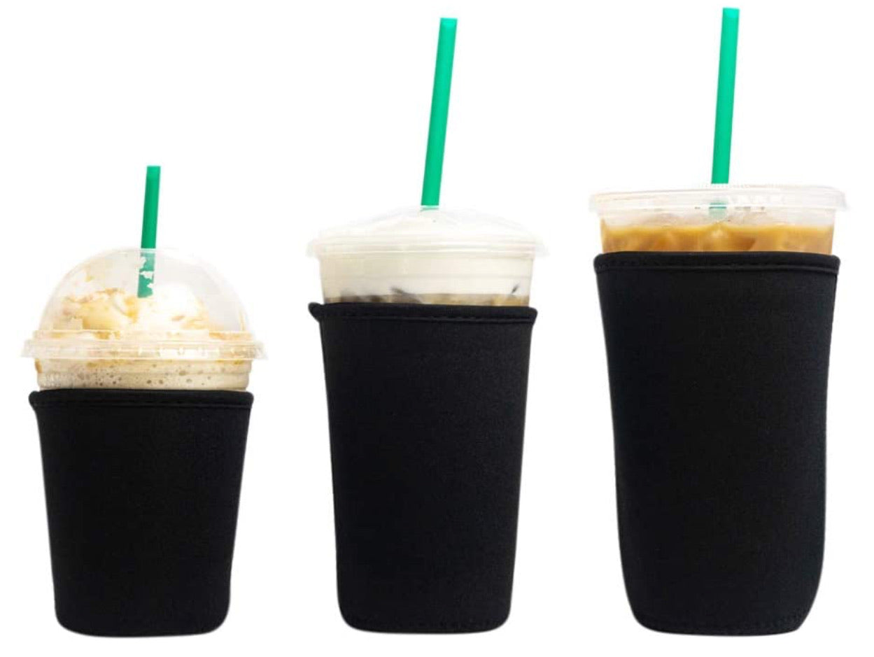3 Pack Reusable Iced Coffee Sleeve