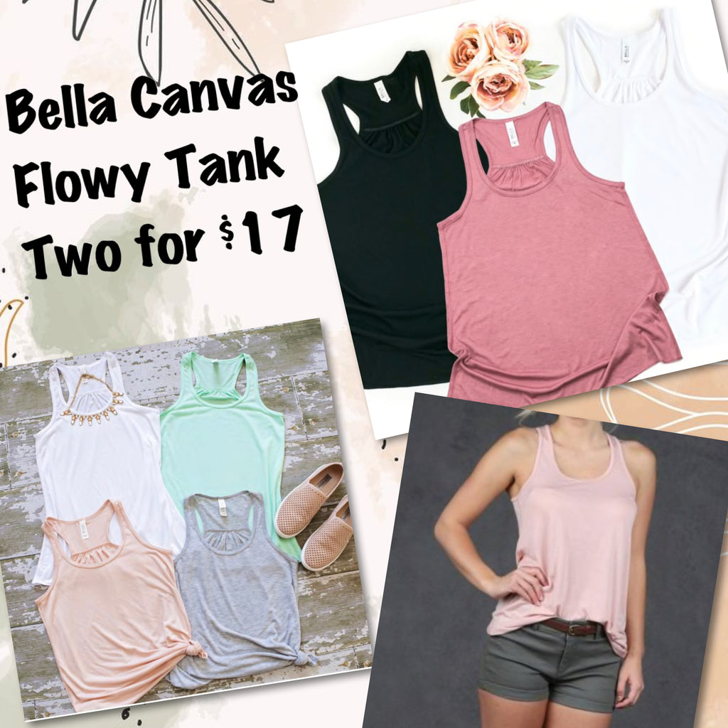 Bella Canvas Tank Grab Bag