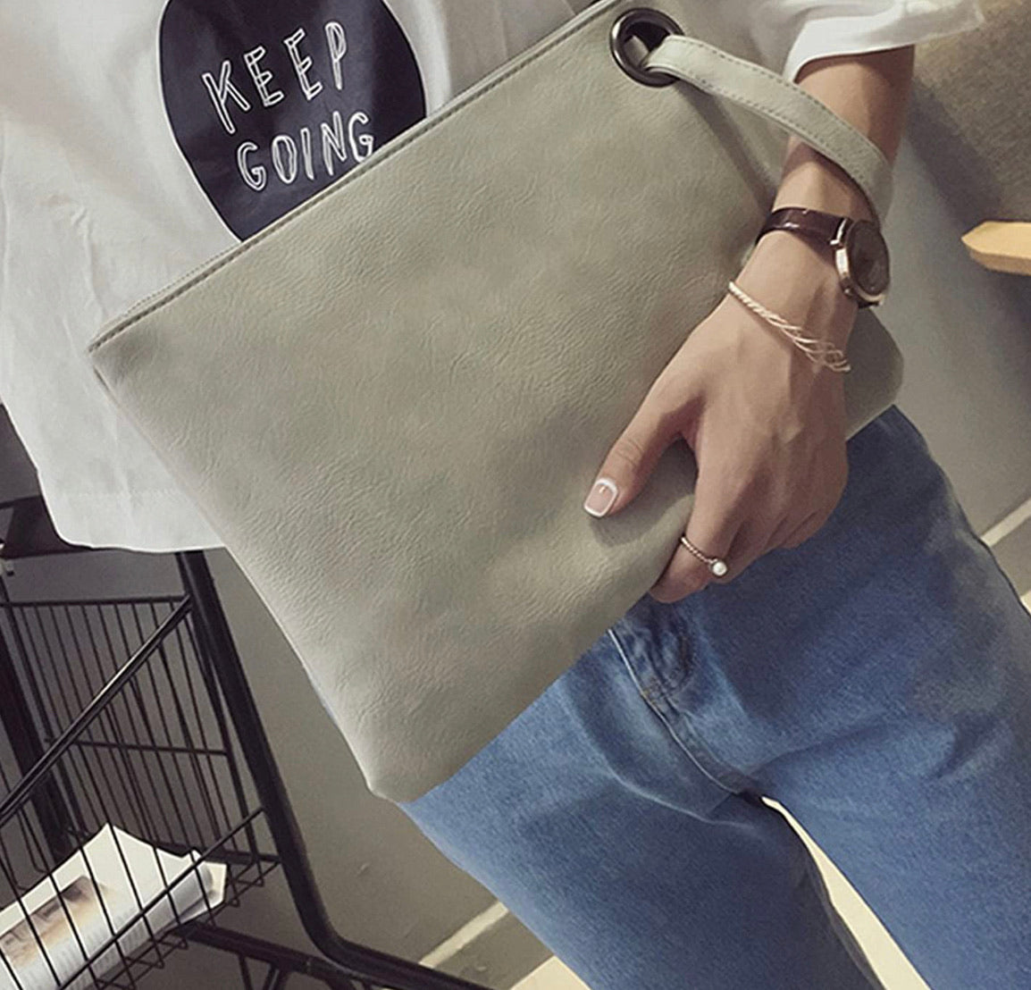 Lexi Oversized Clutch