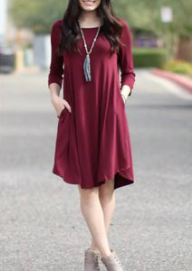 Pocket Tunic Dress