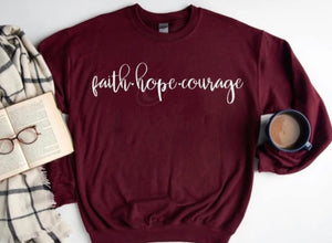 Faith Hope Courage