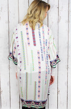 Load image into Gallery viewer, Southwestern Stripes Kimono