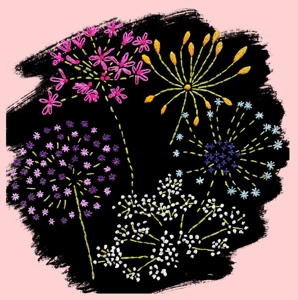 Flowerworks Embroidery Kit